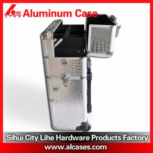 Aluminum trolley case Cosmetic case