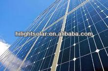 high efficient 600 watt solar panel with TUV IEC CE CEC ISO INMETRO