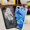 Lenticular 3D depth flash design case for iphone 4