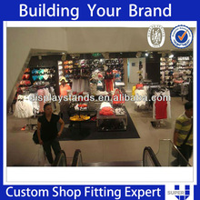 Customized clothes showroom shop interior