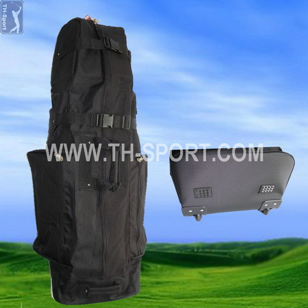 Updated antique travel cover for golf bag