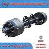 CNC machining axle air suspension agricultural parts semi truck