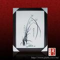 jingdezhen flor de loto y diseño de la placa de cerámica de la pintura