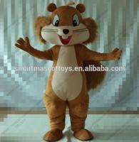 Animal chipmunks costume with clear visual adult chipmunks costume