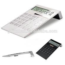 12 digit fashion dual power calculator