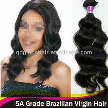 virgin human hair wave 100% real virgin human hair Brazilian wavy hair cheap price
