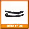 Chain guide for Bajaj CT100 motorcycle