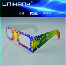 2014 hot Cheap 3D Circular paper glasses manufacture