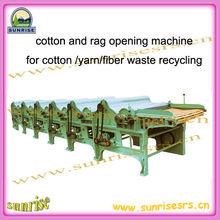 Textil de residuos de la máquina de apertura