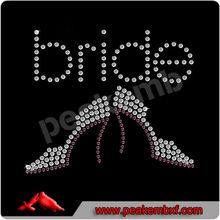 Beautiful Wedding Shoes Bride Rhinestones For Dresses