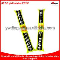 customized led foam cheering stick,concert light foam stick
