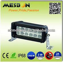 6inch 36W led off road light bar atv