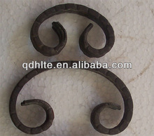 forged scrolls wrought iron ornaments