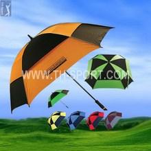 Modern most popular golf umbrella 190t nylon