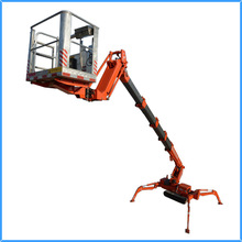 Aluminium self-propelled spider lifts
