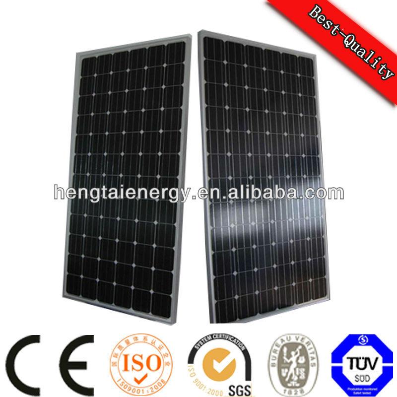 009 TUV CE favourable price,high quality mono/poly silicon photovoltaic panel solar