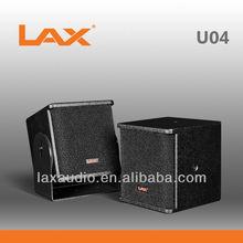 """LAX U04 single 4.5"""" compact speaker portable mini speaker"""