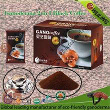 Ganoderma Lucidum Extract 2 in 1 Black Coffee