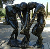 Black Color The Three Shades Statue Brass Famous Sculpture