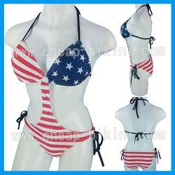 2014 Hot Sexy Jamaica Flag Swimwear