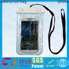 Fashion pvc waterproof bag pouch for samsung s3/s4/s5