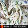 High quality polyester printed silk chiffon fabric for dress