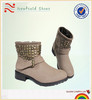 2014 new style boot shoes flat beautiful winter women shoes womens ankle snow boots