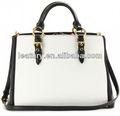 Las señoras de moda bolsos de cuero genuino, elegante de cuero de las señoras bolsas blancas, moda de cuero mujer de compras bolsas de mano