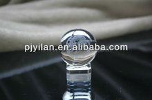 transparent engraving dragon 3d laser crystal glass ball