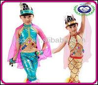 Wholesale Carnival Children Girls Belly Dance Dress Kids Children Mermaid Costumes