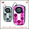music speaker case player with built in speaker, tf micro sd music player fm radio usb mini speaker