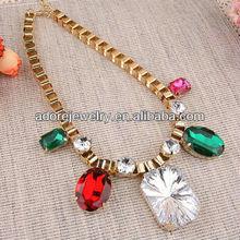 Sex big diamond charm necklace for women