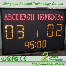 digital football scoreboard digital score board \ electronic \ digital score led display board