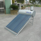 Aluminum Zinc Steel Compact Evacuated Tube Solar Water Heater