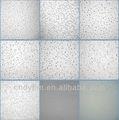 acústico de fibra mineral tablero del techo