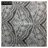 100% Nylon heavy african knitting thick Lace fabric for fashion cloth