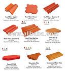 Handmade Terracotta Tiles / Ceramics Roof or Floor Tiles