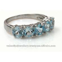 925 sterling silver aquamarine ring, silver rings in buy online, fancy sterling silver rings