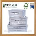 Servir alimentos baratos mdf japonês frutas pequenas alças antique branco atacado bandeja de madeira decorativa, madeira caixas de frutas