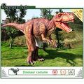 nascosta gambe costume realistico dinosauro animatronic