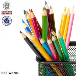"INTERWELL WP703 Wooden Pencil, Pastel Pencil, 7"" Eco-friendly Colour Pencil"