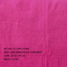 "100%Cotton S/D 16W 57/58"" Corduroy printed corduroy"