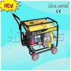 5KW three phase power diesel generator with wheels