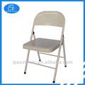 barato silla plegable de metal