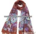 ameba de moda de impresión gasa bufanda