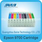 Ink cartridge/Ep.son 9700 refill inkjet cartridge