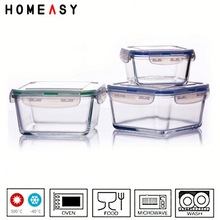 airtight container with PP lid keep food fresh made in China