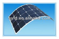 Semi Flexible monocrystalline silicon Solar Panel with High Efficiency SunPower cells