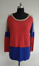 Fashionable wool sweater design for girl