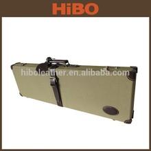 อุปกรณ์การล่าสัตว์ยิงผ้าใบด้วยหนังแท้กล่องปืน/ซองปืน/กรณีปืน